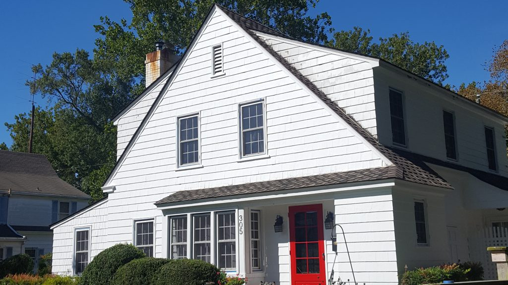 1930s house lead abatement and paint go green painters for Lead paint on exterior of house